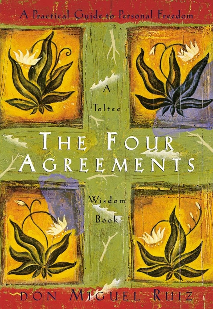 personal development books - the four agreements book cover