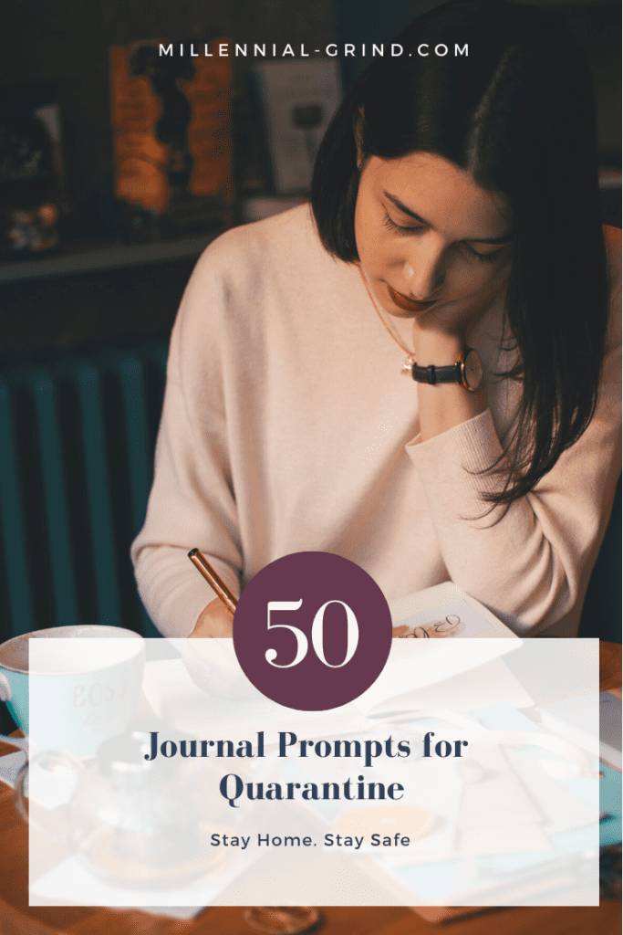 Quarantine Journal Prompts