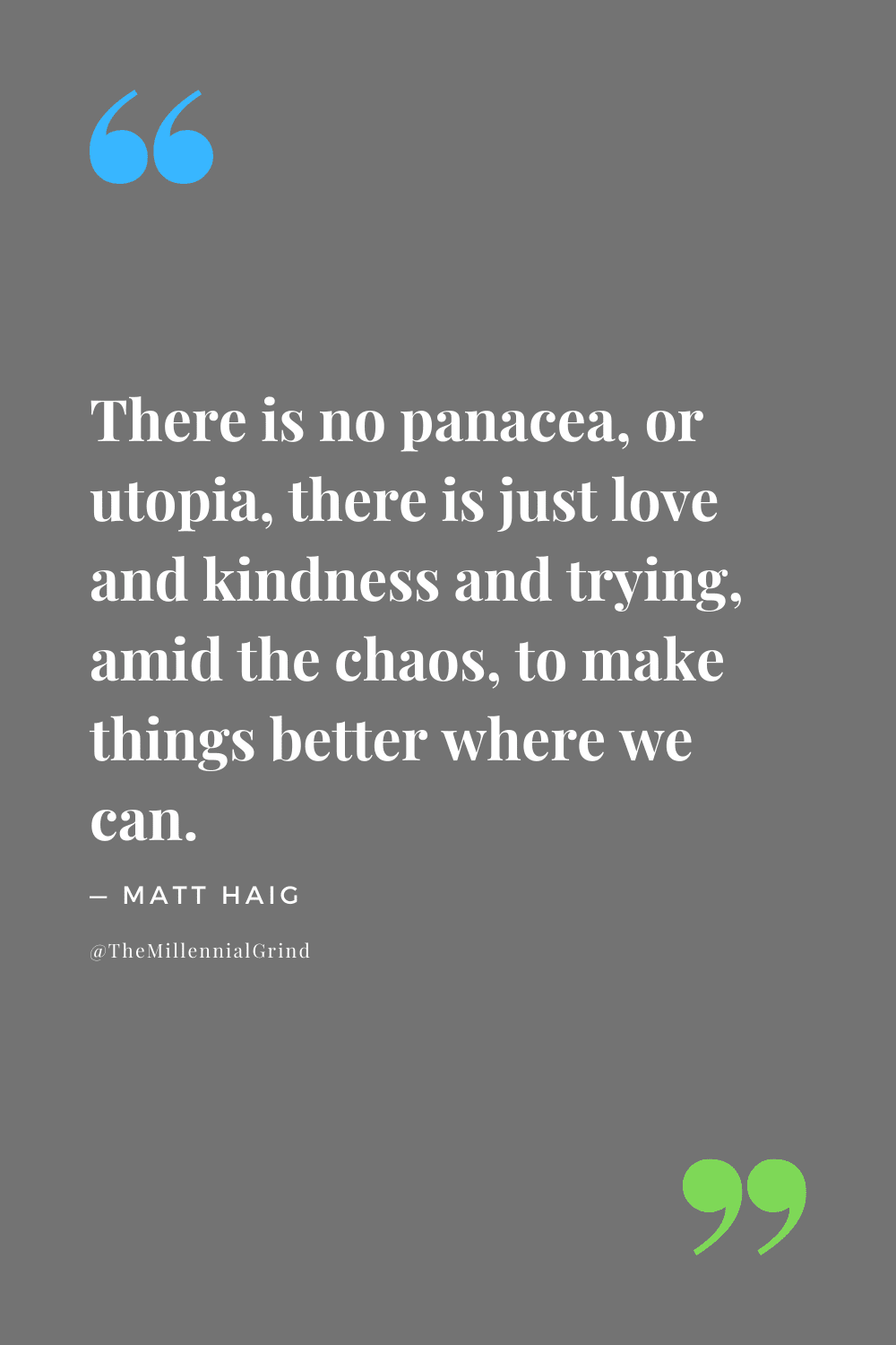 Quotes from Notes on a Nervous Planet by Matt Haig
