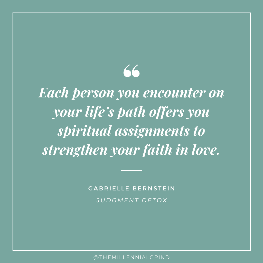 30 Inspirational Quotes from Judgment Detox by Gabrielle Bernstein