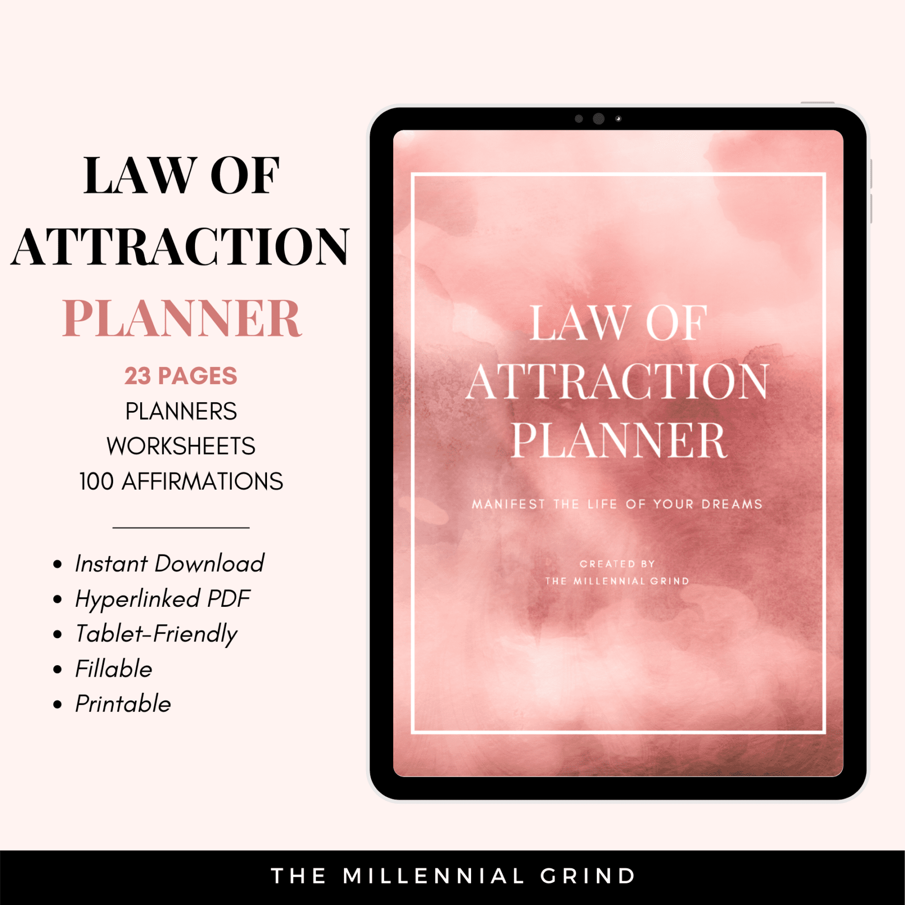 Product Images - Law of Attraction Planner
