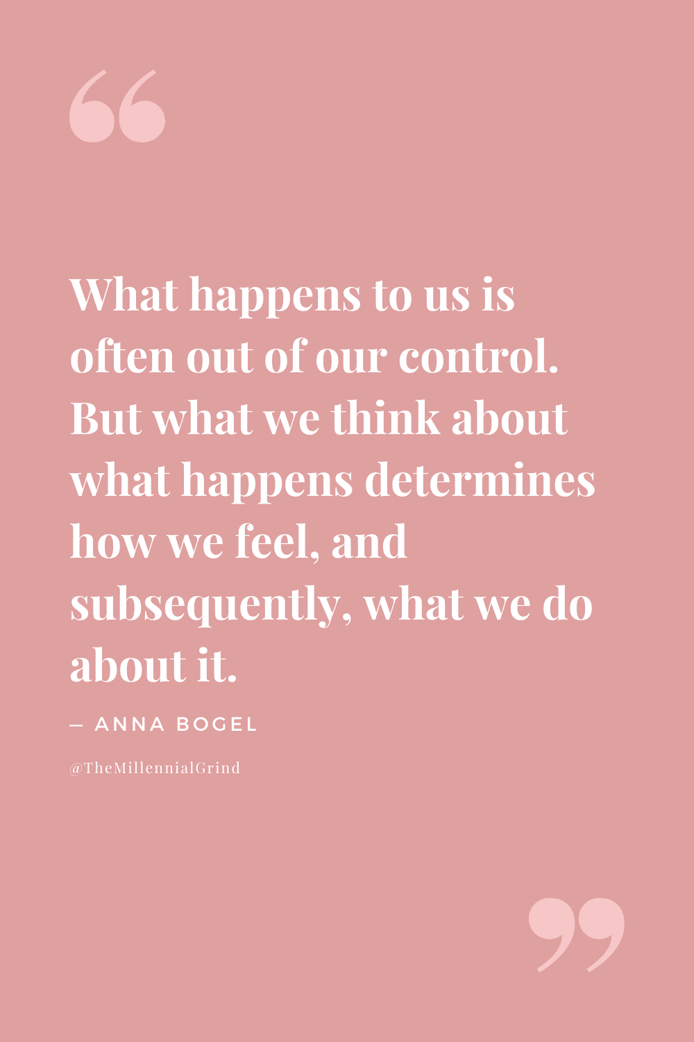 Quotes From Don't Overthink It by Anna Bogel