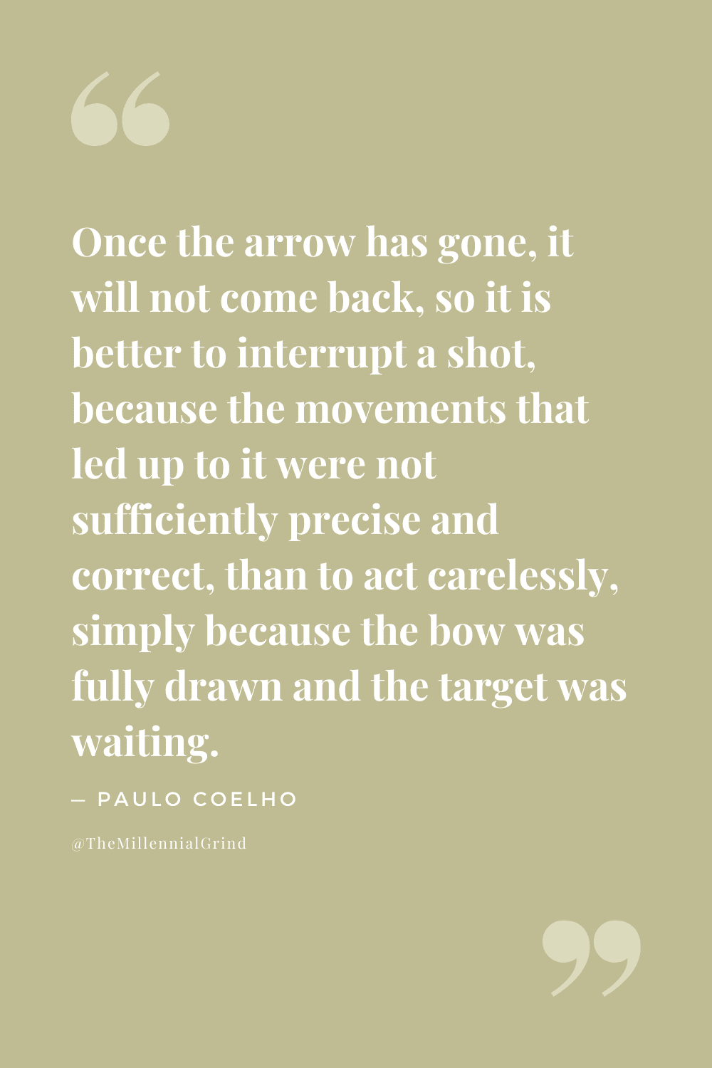 Quotes From The Archer by Paulo Coelho