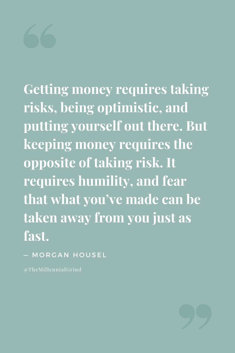 Quotes From The Psychology of Money by Morgan Housel