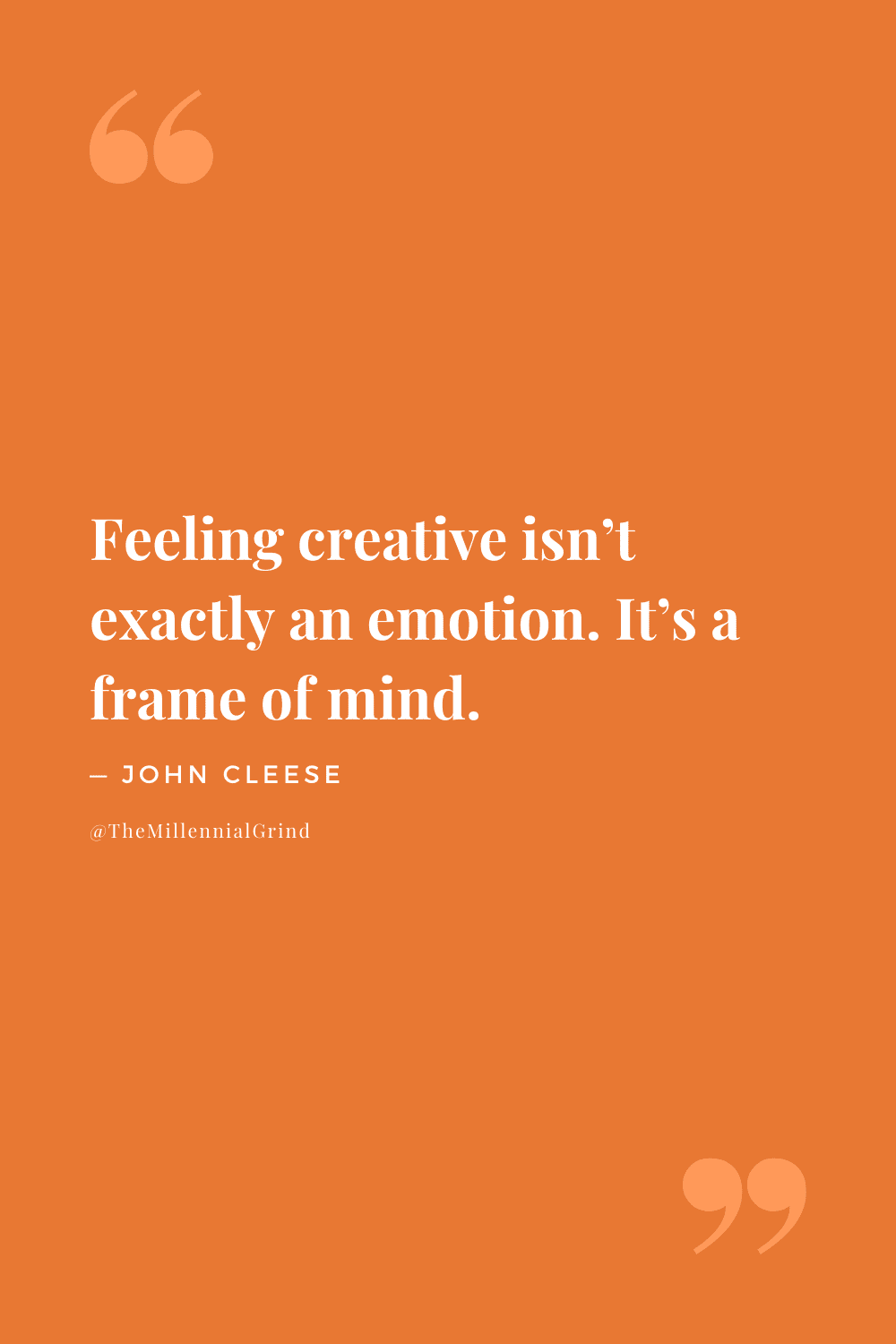 Quotes From Creativity by John Cleese