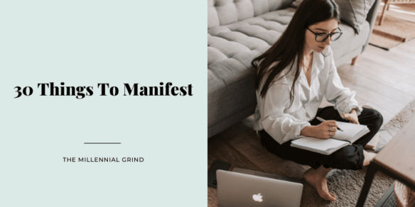 30 Things To Manifest In 2021