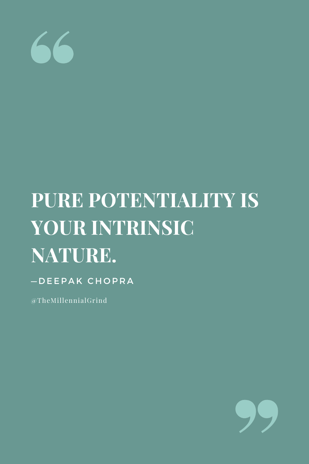 Quotes on The Law of Pure Potentiality