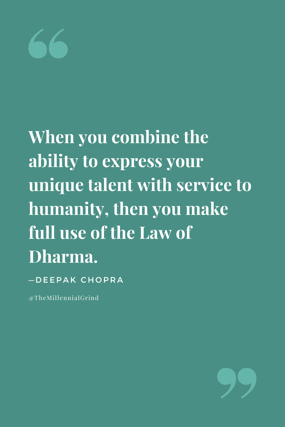 The Law of Dharma Quotes