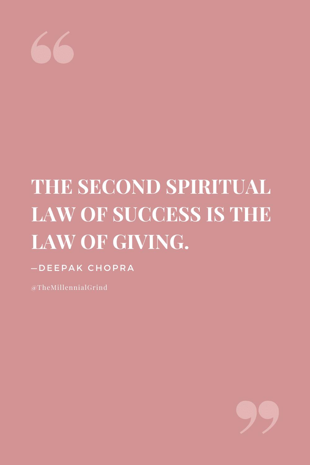 The Law of Giving Quote