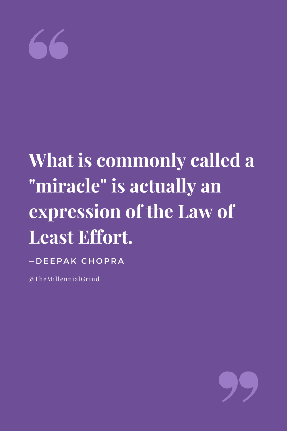 The Law of Least Effort Quote