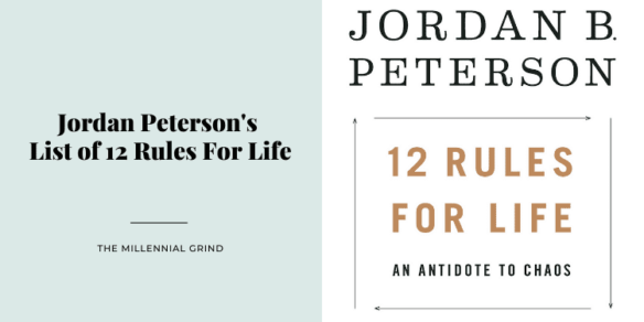 Jordan Peterson's List of 12 Rules For Life