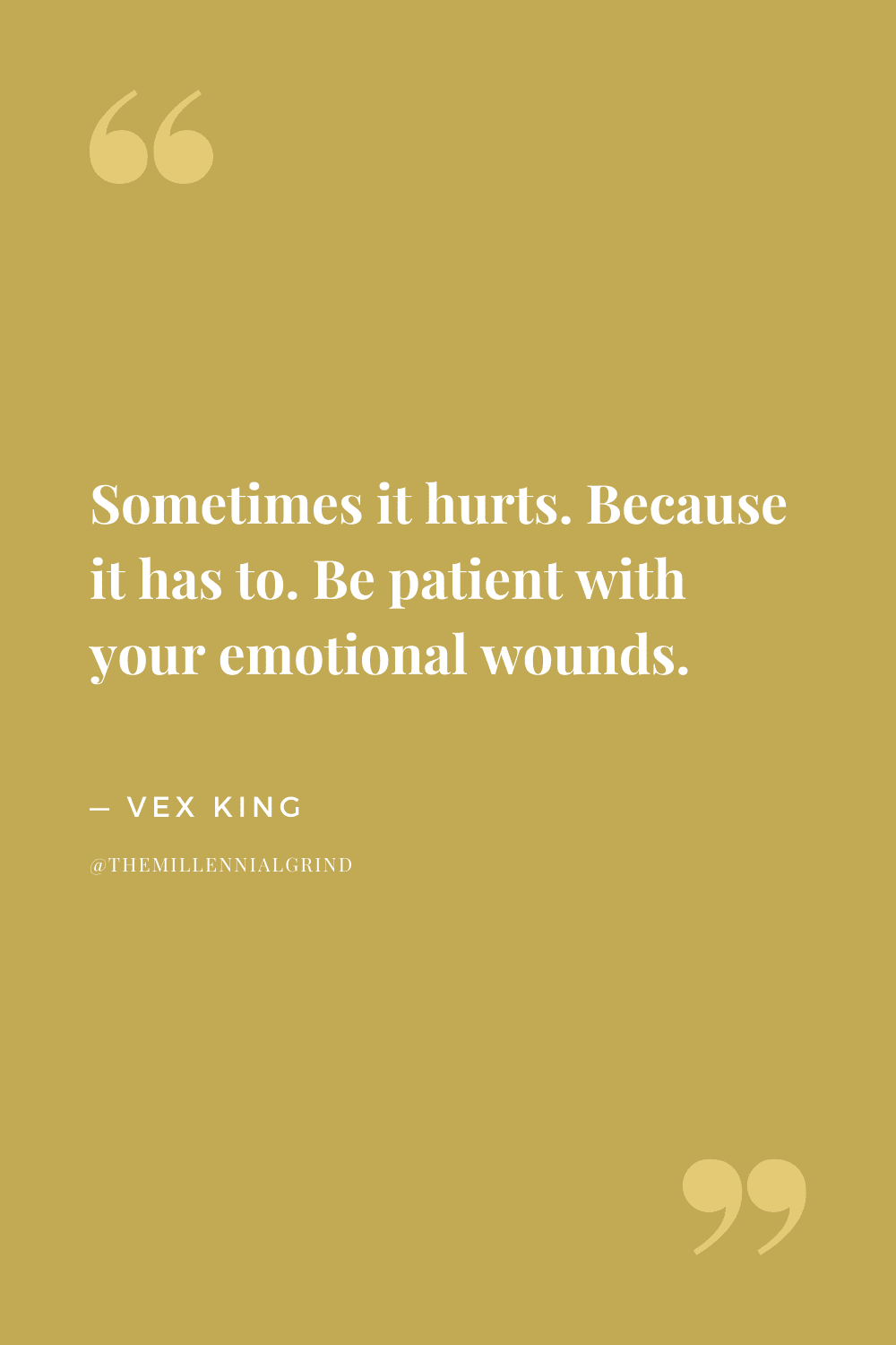 Quotes from Healing Is the New High by Vex King