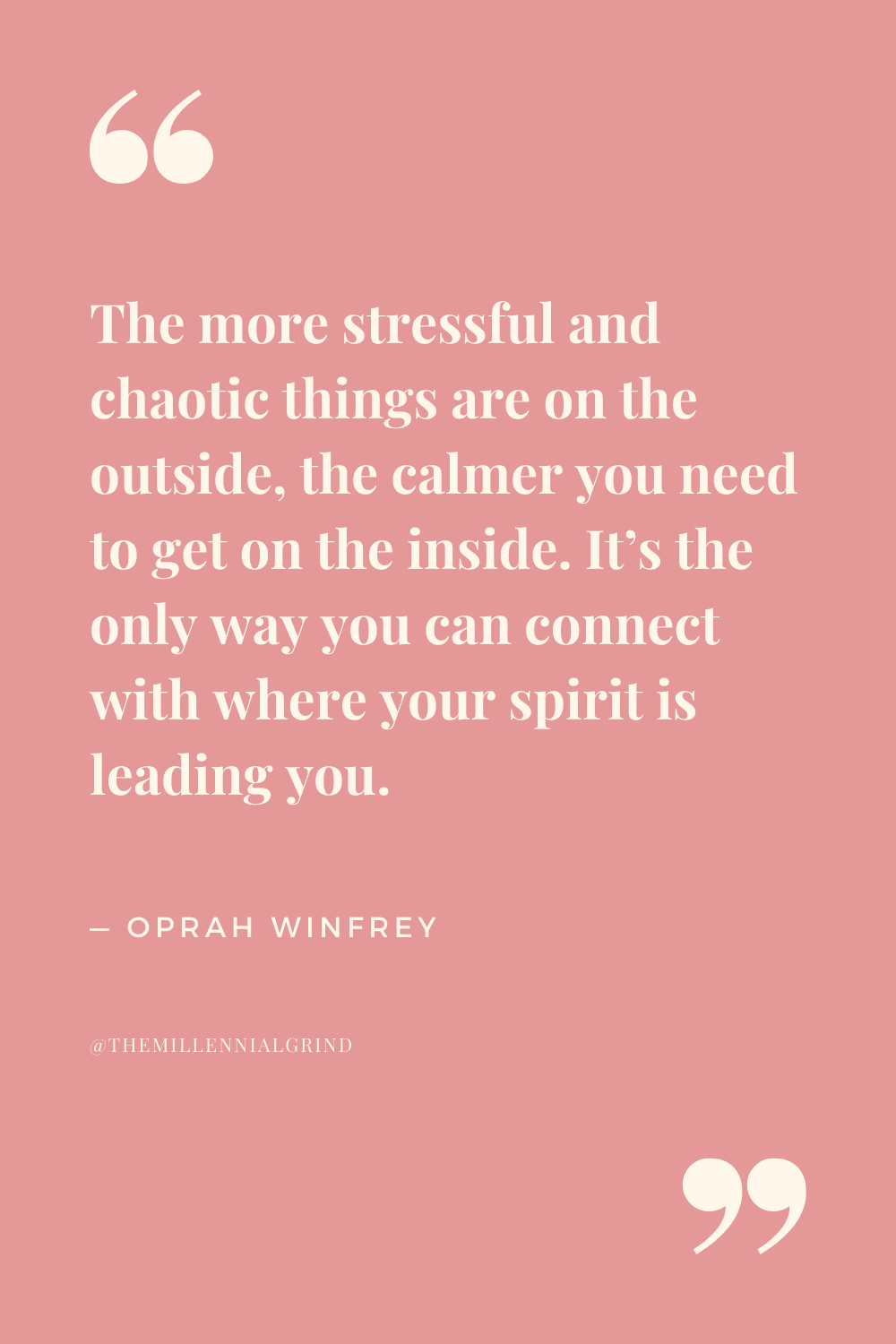 Quotes from What I Know for Sure by Oprah Winfrey
